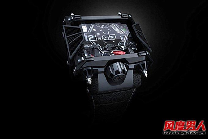 手表品牌Devon 高人气角色黑武士纪念表款