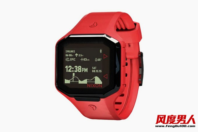 手表品牌Nixon 智能冲浪腕表 Ultratide