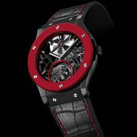 瑞士名表Hublot黑红经典配色手表