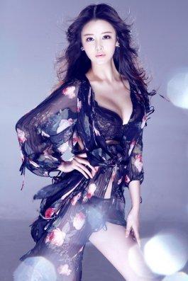 气质的美女性感的身姿 薄纱隐现好身材