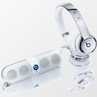 Beats by Dre耳机喇叭科幻感的外型