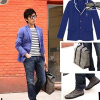 潮流男星出街装备 时尚单品搭配型男风范