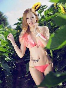 韩国嫩模完美的人体艺术清秀的面容