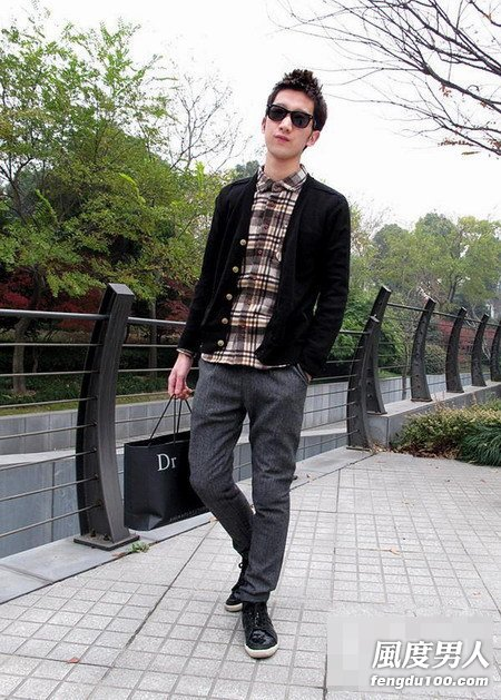 潮男春季服装搭配帅气百变造型