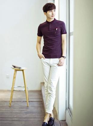 男人短袖T恤搭配 简约T恤HOLD住潮范