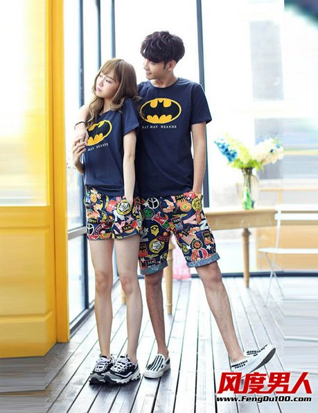 夏季男生短裤搭配 露腿型男秒杀辣妹