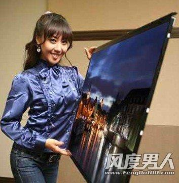 新概念OLED电视 更超薄更节能