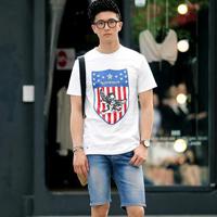 夏日韩国男士简单潮味的服装搭配