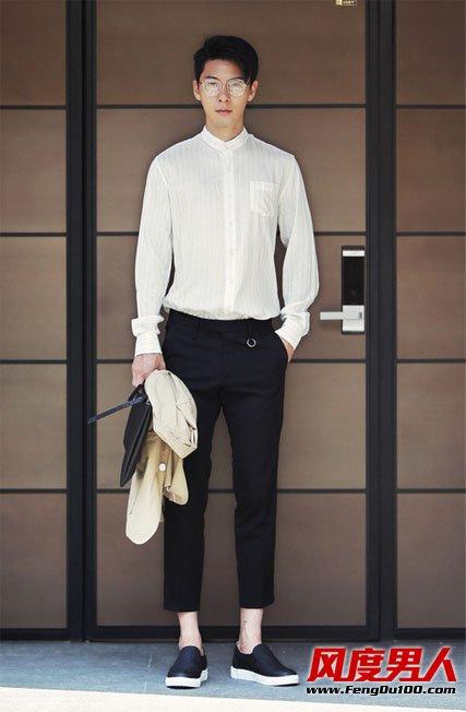 夏季简洁干练韩风时尚男装搭配