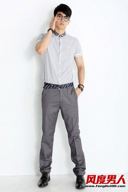 夏季上班男士穿衣搭配正装这时髦