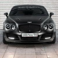 TopCar改装Bentley 消光黑霸气感外型