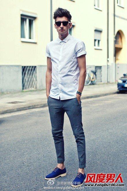 夏季男人街风十足穿衣打扮 做街头型男