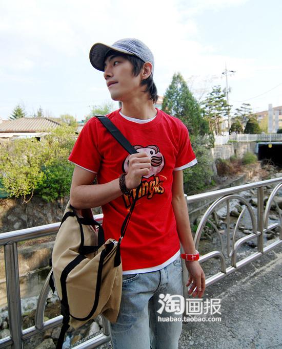 2010夏季潮流男人装搭配