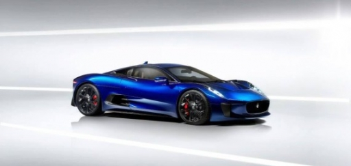 Jaguar C-X75混合动力超跑原型车