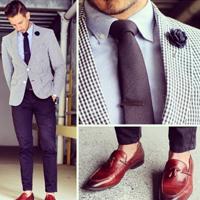 男人西装怎么搭配 学型格西装搭配
