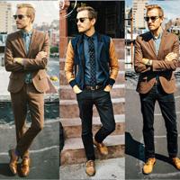 秋天六种不同风格男装搭配美式腔调