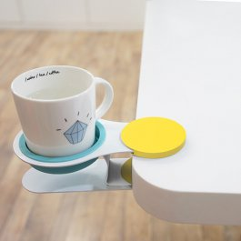 充满创意的办公室 放杯子小零食的物件