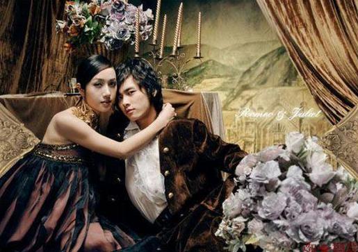 李易峰婚纱照帅到没朋友