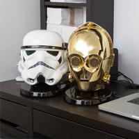星战迷大爱 C-3PO 和 Stormtrooper 头样蓝牙音响