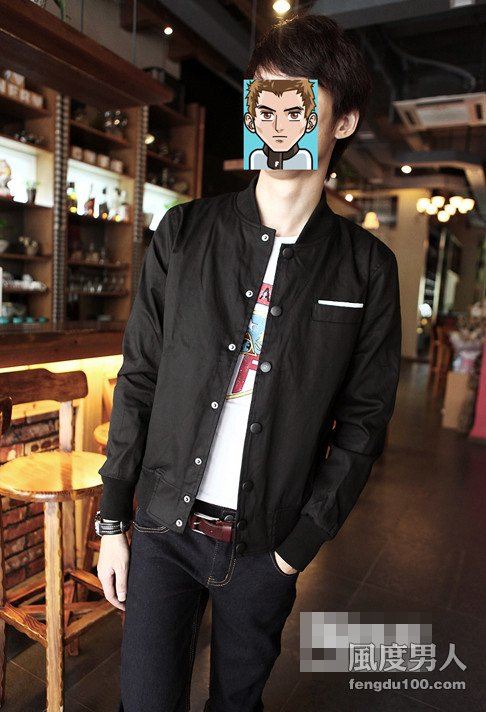 潮酷型男金秋外套夹克装耀眼帅搭