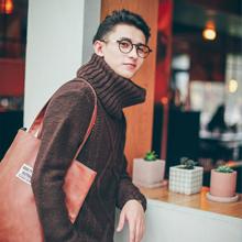 男人高领毛衣怎么搭配 气质暖男范儿