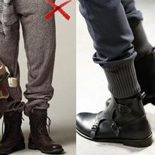 男人穿短靴怎么配裤子 看男生短靴搭配什么裤子