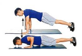 男士减肥健身操图解 全身的肌肉锻炼