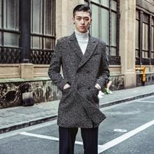 """潮男冬季灰色大衣搭配  """"高级灰""""冷静简约的色彩"""