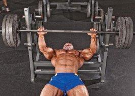 平板卧推的动作练出完美胸肌