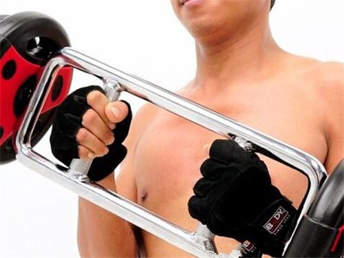 环形杠铃怎用 环形杠铃锤式弯举