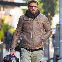 冬季男人皮衣怎么搭配 学男星皮衣搭配