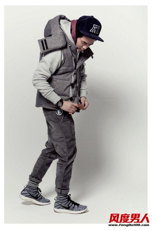 ANB推2013年末男士冬装搭配造型