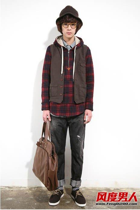 男士冬季男装搭配出文艺气质范儿