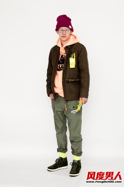 冬季男装街头风服装色彩的搭配