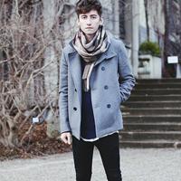 冬季男人大衣硬朗帅气搭配技巧