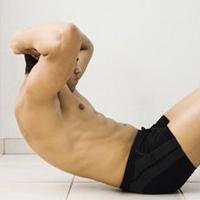 男人练腹肌的运动和健身计划详解