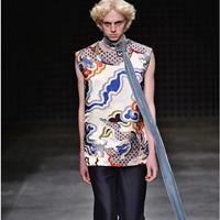 国内男装品牌Xander Zhou 2016春夏时装周秀中国元素