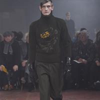 品牌Alexander McQueen 2015秋季男装秀场造型