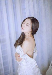 绝色女神性感婚纱写真浪漫女人气质