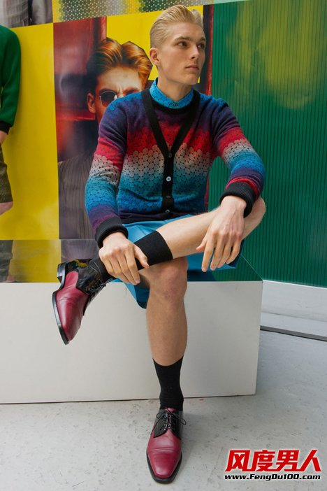 Jonathan Saunders品牌 2013年Jonathan Saunders春夏男装