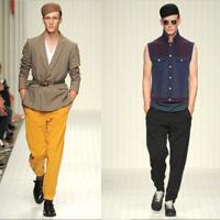 Robert Geller品牌男装 2014年春季硬朗气质男装