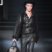 品牌Philipp Plein男装秀2014秋冬季狂野的西部风秀场