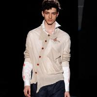Vivienne Westwood 2015春夏季时装周男装造型