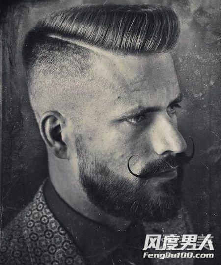时尚有态度!潮男必备undercut发型欣赏 undercut发型图片
