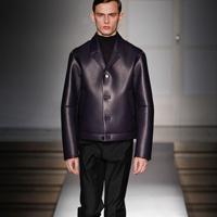 品牌Jil Sander 2014秋冬季男装秀复古设计风格