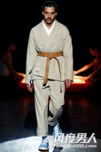 Umit Benan品牌2016年秋冬男装秀场