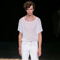 Sandro品牌2016春夏男装秀场造型