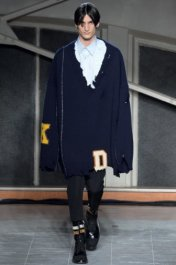 Raf Simons品牌 2016秋冬男装秀大学校园为灵感