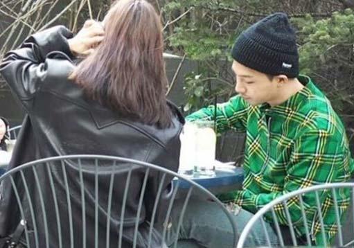 太阳与闵孝琳约会多次被网友抓包
