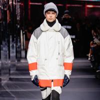 Moncler品牌2014秋冬男装秀场造型